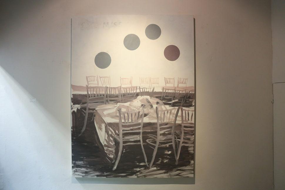 """""""KOANS"""" exhibition at Tang Contemporary Art Gallery, with Tawan Wattuya (March 2014)"""