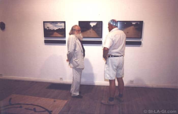 Pierre Restany and SI-LA-GI - Hanging Garden - Fészek Galéria - 2000