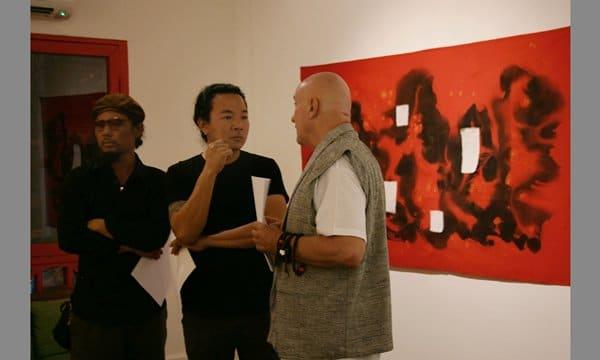 Tada Hengsapkul & Hungarian Contemporary Artist SI-LA-GI (Thailand 2011)